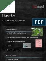 Etopósido