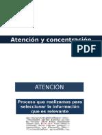 Atención y Concentración