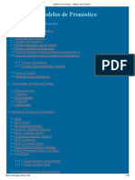 Modelos de Pronósticos - Métodos de Pronósticos