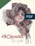 Cigarra edição de 18 02 1916