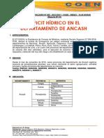 Reporte de Peligro Nº 002 - 04enero2017 - Peligro Inminente Por Deficit Hídrico en Ancash (1) (1)