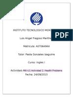 MIII-U1 Actividad 2. Health Problems