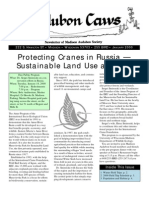 Jan 2000 CAWS Newsletter Madison Audubon Society