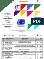 Programa V Congreso 2016
