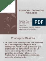 Evaluación y Diagnóstico Psicológico