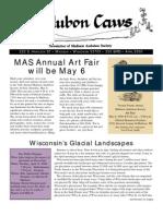 Apr 2000 CAWS Newsletter Madison Audubon Society