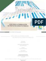 Guia Para Formular Proyectos Arquitectonicos-Issuu