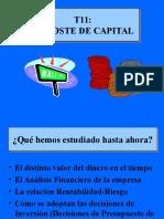 Coste de Capital