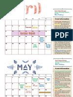 April-May-June 2017 Fusion Calendar