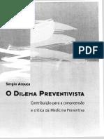 AROUCA, Sergio - O Dilema Preventivista