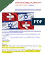 25-12-2016-10 Raisons Pourquoi La Suisse Etait Le Premier Etat Juif