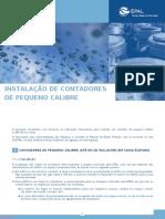 Instalacao Contadores Pequeno Calibre 2015