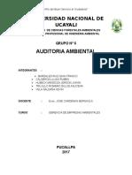Auditorias Ambientales Grupo 6