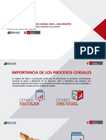 Datos Educacion San Martin
