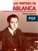 89-Escaques-Las Partidas de Capablanca