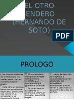 El Otro Sendero Hernando de Soto