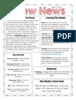crew newsletter 4 21