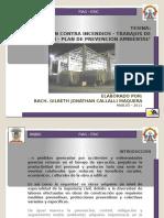 PROTECCIÓN CONTRA INCENDIOS - TRABAJOS DE DEMOLICIÓN - PLAN DE PREVENCIÓN AMBIENTAL