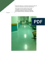 Pisos Plásticos Maderplast Pisos Epóxicos y No Epoxicos Pisos Para Salas de Espera Salas de Cirugía Salas de Consultorios Pisos Para Laboratorios
