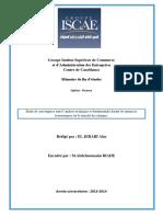 Etude de Convergence Entre l'Analyse Technique Et Fondamentale Durant Les Annonces Économiques Sur l