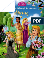 Princesses Through the Seasons Spring