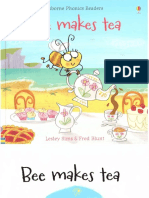 Bee Makes Tea Usborne Phonics Readers