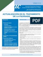 Actualización en El Tratamiento de La Psoriasis