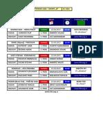 medjuopstinska liga - grupa b - delegiranje - 16  kolo