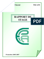 Rapport de Stage en Bureau Detude en Construction Metallique