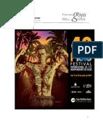 40 Festival Internacional de Cine Independiente de Elche. Bases y Participación