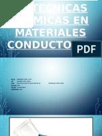 Especificaciones Tecnicas Quimicas de Materiales Conductores
