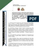 TRATADO Supremo Conclave Tratado de Aliança, Rito Brasileiro e Adonhiramita