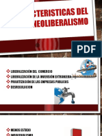Caracteristicas Del Neoliberalismo