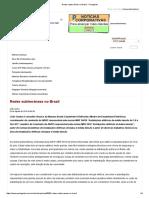 Redes Subterrâneas No Brasil - Portogente