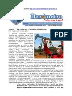 Por Humberto Trompiz Valles Chavez y La Cuestion Petrolera Venezolana