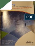 Participant book SRM - APICS