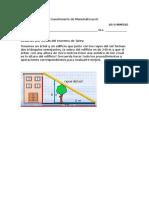 Cuestionario de Matemáticas III