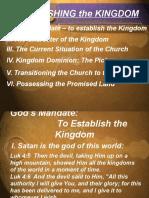 Establishing the Kingdom