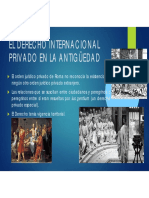 2.- Origen Del DIPr