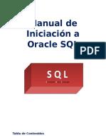 Manual de Iniciación a Oracle SQL