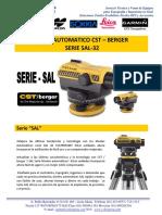 Esp. Tec. Nivel Serie SAL32