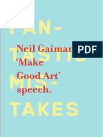 Make Good Art - Gaiman