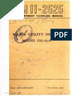 TM11-2525 Miller Utility Heater Model OG-31-A, 1944