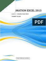 Livret 1 Ex2013 Decouvrir Excel 2013