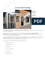 Paredes y Muros Del Steel Framing