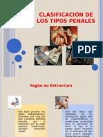 Clasificación de Los Tipos Penales 2....