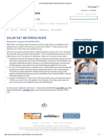 Berkeley Electric Coop Inc - Solar Net Metering May 2017