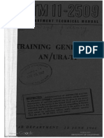 TM11-2509 Training Generator an URA-T1, 1944