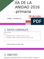 Día de La Peruanidad 2016 - Peruanidad