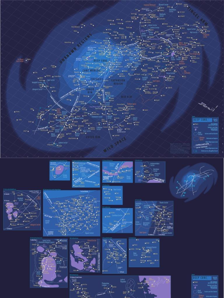 Star Wars Galaxy Map Pdf